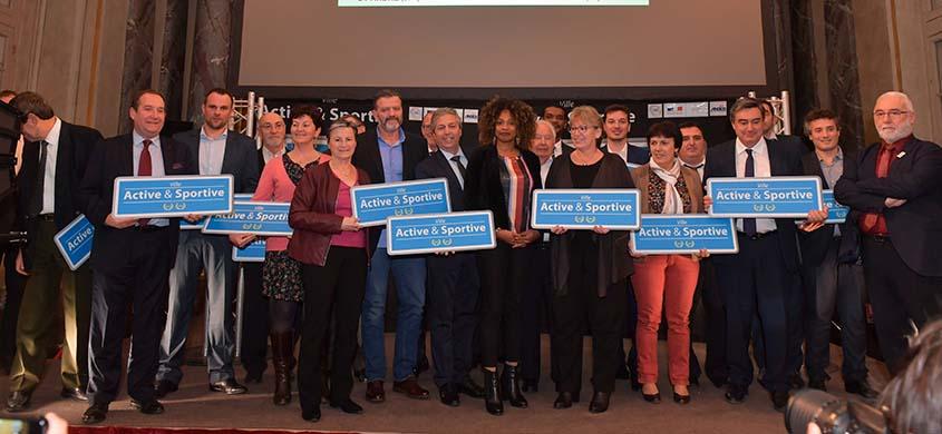 Saint-Fons lauréate du label Ville active et sportive
