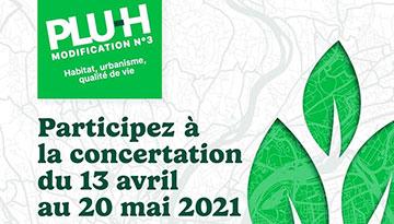 MODIFICATION DU PLU-H